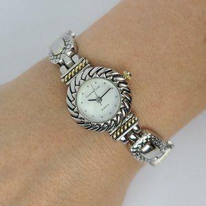 Charter Club Silver Link Watch